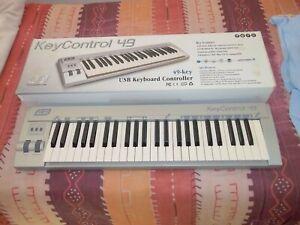 ESI Keycontrol 49 clavier USB MIDI 49 touches