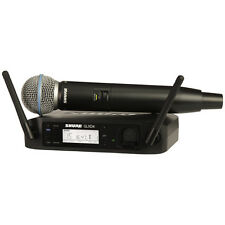 Shure GLXD24/BETA58A Handheld Wireless System