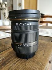 Sigma EX EX DC OS HSM 17-50mm f/2.8 OS HSM DC Lens Canon EF fit wide angle