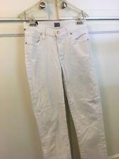 Citizens Of Humanity skinny ankle womans white jean Sz.24