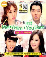 Marry Him If You Dare Korean Tv Drama (3 DVD) English Subtitle 0 Region BoxSet