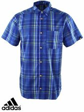 Genuine Adidas Men's ED Check Short Sleeved Shirt (S11168)