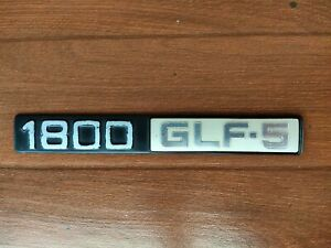 SUBARU 1800 GLF-5 Rear Trunk Emblem Badge Genuine
