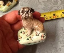 Dogs Decorative Art Pottery