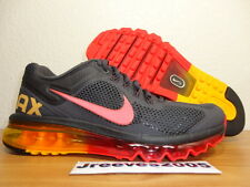 Nike Air Max 2013 Sz 6.5 100% Authentic Running Dark Charcoal 554886 068