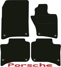 Qualità Su Misura Deluxe Tappetini auto Porsche Cayenne 2010-2017 ** NERO **