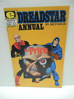 Dreadstar Marvel Epic Comic Book Annual #1 The Price Jim Starlin Story And Art