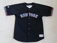 NEW YORK METS #45 MAJESTIC MLB BLACK BASEBALL JERSEY REGULAR SEASON BOYS 14/16