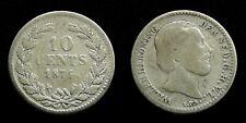 Netherlands - 10 Cent 1874 muntmeesterteken Zwaard