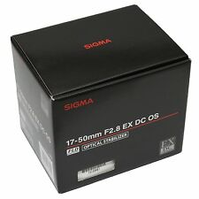 Sigma 17-50mm f/2.8 EX DC OS HSM Zoom Lens 17-50 F2.8 for Canon ~ Brand NEW