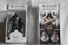 ASSASSIN'S CREED BROTHERHOOD EZIO ONYX ACTION FIGURE NEW BLISTER PACK OFFICIAL