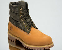 Timberland 6 Inch Premium Contrast Boots Men's Lifestyle Shoes Wheat Leaf A1ZRH