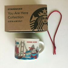 Starbucks 2oz You Are Here Hong Kong Small Mug Cup Ornament Collectible Asia