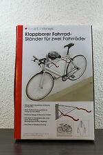 The Art Of Storage Fahrrad Wandhalter klappbar für 2 Fahrräder hochwertig! NEU