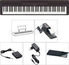 Yamaha P 45 B Digital E-Piano mit Sustain Halte Pedal Staubschutz Hülle Netzteil