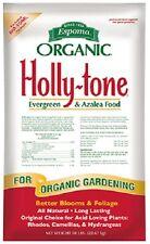 Espoma HT50 50lb Holly Tone Organic Evergreen Azalea Acid Loving Food Fertilizer