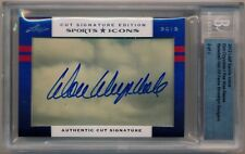 2012 Leaf Sports Icons DON DRYSDALE/PEE WEE REESE AUTOGRAPH Dodgers *2/5 BGS
