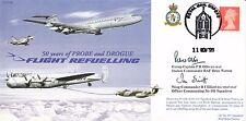 JS(CC)66b 50 years of Probe & Drogue Flight Refuelling Signed Station Cdr & OC 1