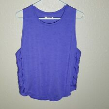 Xersion M Top Athletic Shirt Quick Dry Breathable Vented S/S Gym Running Cut Out