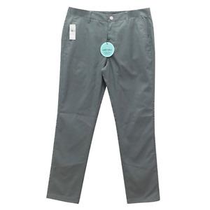 Bonobos Lightweight Plaid Slim Golf Pant Teal Green 33x32 NWT $88