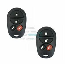 2 New replacement keyless entry remote control for Toyota 04-08 Avalon Solara