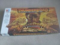 Vintage Thunder Road 80s retro board game Mad Max road game complete apocalypse