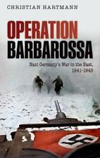 Operation Barbarossa: Nazi Germany's War in the East, 1941-1945-ExLibrary