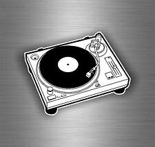 aufkleber auto moto jdm disc jockey tuning DJ disco musik scratch controller r10