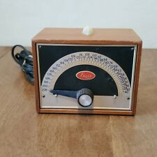 FRANZ ELECTRIC METRONOME LM-FB-5 Vintage Solid Walnut