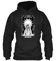 Mexican Day Of The Dead La Santa Muerte Halloween - Gildan Hoodie Sweatshirt