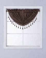 1PC VALANCE SWAG ROD POCKET FOAM LINED BLACKOUT WINDOW DRESSING CURTAIN DECOR
