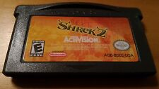 ** Shrek 2 by Activision (Nintendo Gameboy GBA Advance 2004) **