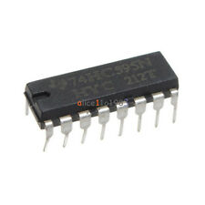 50pcs 2.0 ~ 6.0 V TOP SN74HC595N 74HC595 8-Bit Shift Register DIP-16 IC