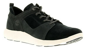 Timberland flyroam leather mens trainers black UK Size