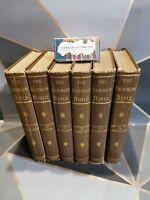 The Sermon Bible 6 Volumes c1900 Funk & Wagnalls Company Hardback Books TBLO