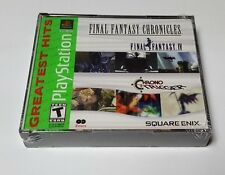 Final Fantasy Chronicles: Final Fantasy Iv & Chrono Trigger PlayStation ps1 new