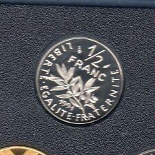 BE - 50 Centimes Semeuse 1991 FDC 6 232 Exemplaires Provenant du Coffret BE