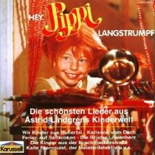 Astrid Lindgren-Ehi, Pippi Calzelunghe/CANZONI CD 22 tracks canzoni Bambini Nuovo