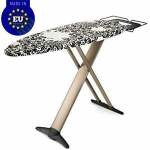 "Bartnelli Pro Luxury Ironing Board - Extra Wide 51x19"" Steam Iron Rest, Adjust"