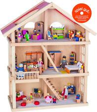 Goki Puppenhaus 3 Etagen 51957 Puppenstube Holz