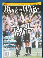 Newcastle United - Black & White Magazine - 1995 -Issue 13 - Barry Venison Cover
