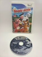 Nickelodeon Barnyard DISC ONLY - Nintendo Wii Authentic/Cleaned/Tested