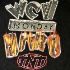 Wcw Monday T Shirt Nitro Original 90S Wrestling T0Ur Black 1 Side Birthday Gift