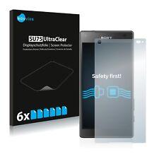 6x Displayschutzfolie Sony Xperia Z5 Compact Schutzfolie Klar Folie Displayfolie