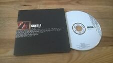 CD Pop Saybia - In Spite Of (1 Song) Promo MEDLEY DENMARK cb