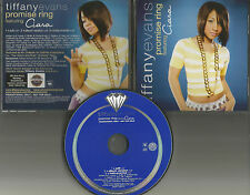 TIFFANY EVANS & CIARA Promise Ring INSTRUMENTAL & RADIO EDIT PROMO DJ CD single