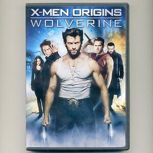 X-Men Origins: Wolverine, mint DVD movie & featurette Jackman, Schreiber, MARVEL