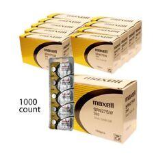 1000 pc Maxell SR927SW 395 SR57 SR927 Silver Oxide Watch Battery