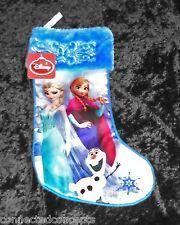 Disney Frozen Sisters Anna & Elsa Christmas Stocking New!
