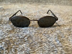 Maui Jim Vintage Jaws MJ 144-14 Bronze Frames Sunglasses Made in Italy